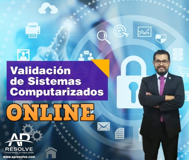 03 Dic. 2020 ONLINE Validación de Sistemas Computarizados