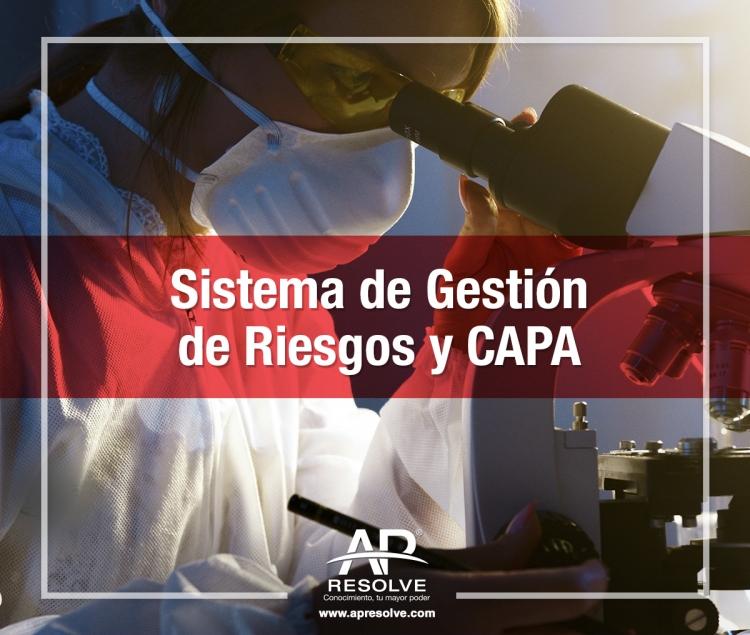 06-07 Abr. 2021 ONLINE Sistema de Gestión de Riesgos y CAPA