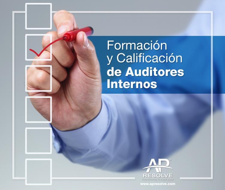 24 Jul. 2021 ONLINE Formación y Calificación de Auditores Internos