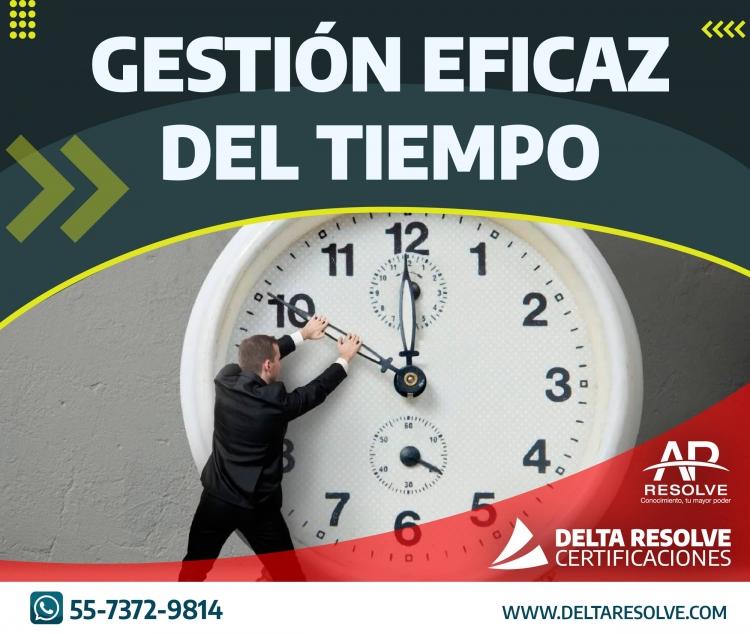 16 Dic. 2021 ONLINE Gestión Eficaz del Tiempo