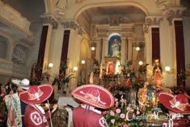 El Novenario En Honor a la Virgen de Guadalupe