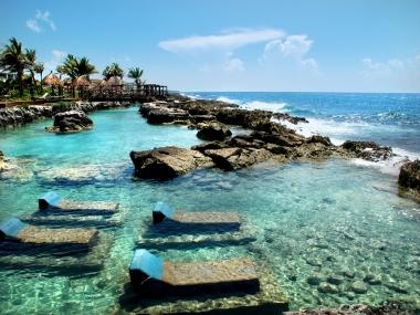 Mahahual, la paz azul del caribe