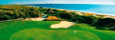 Un reto de golf en Cancún