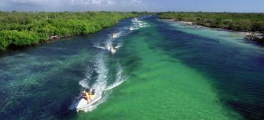 Laguna de Nichupté: hay una selva allá afuera