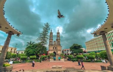 Plaza de Armas en Tepic