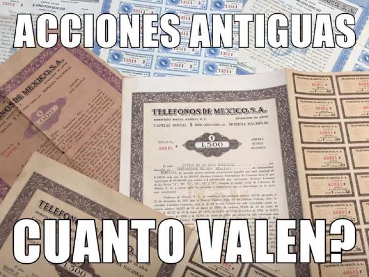 El Valor de tus Acciones de Telmex