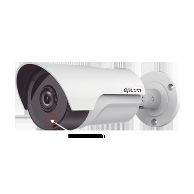 Cámara bullet LB7-TURBO-EXIR2W  TurboHD 720P con lente fijo de 3.6mm