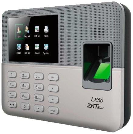 Control De Asistencia Zkteco Mo Lx50 Administrable por medio de EXCEL
