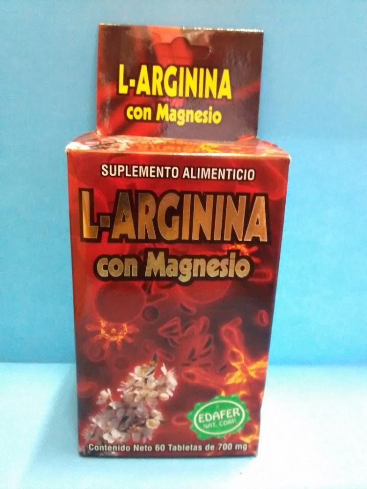 L-Arginina con Magnesio