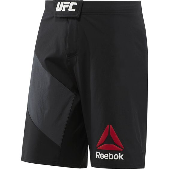 Short UFC Reebok Negro/Negro