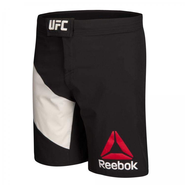 Short UFC Reebok Negro/Blanco