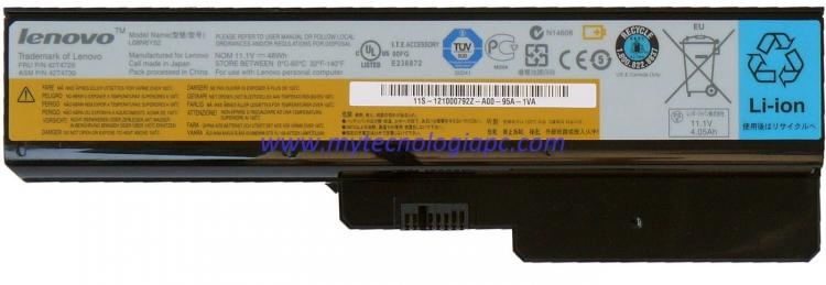 Batería Lenovo G550 Original