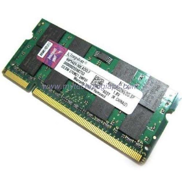 Memoria Sodimm 800 2 GB