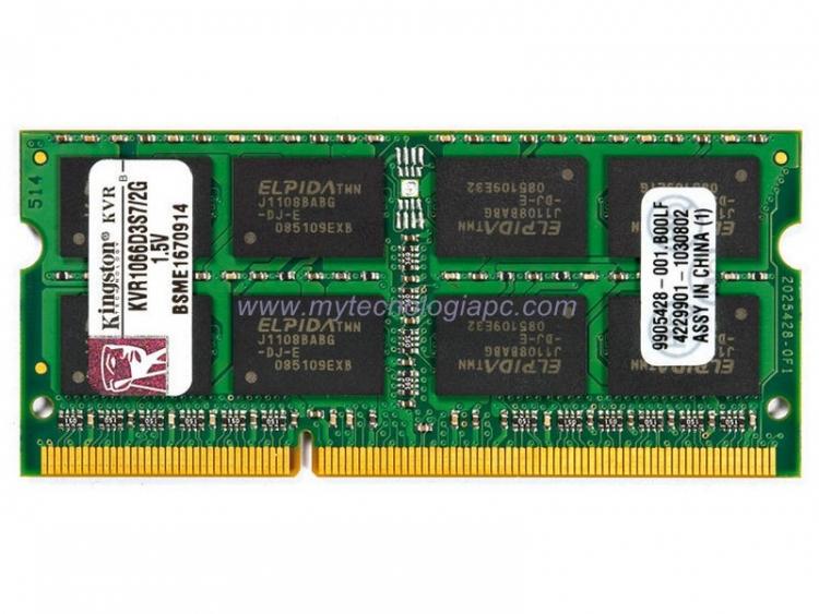 Memoria Sodimm 1066 2GB