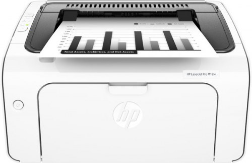 HP LaserJet Pro M12w Impresora láser B/N, 19 ppm, WiFi, 1,000 pag x mes, 1 a 3 usuarios