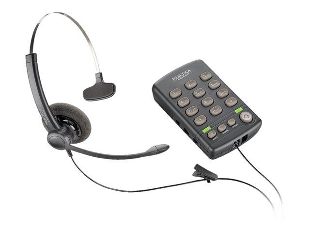 Telefono con Diadema T110 Plantronics con Keypad