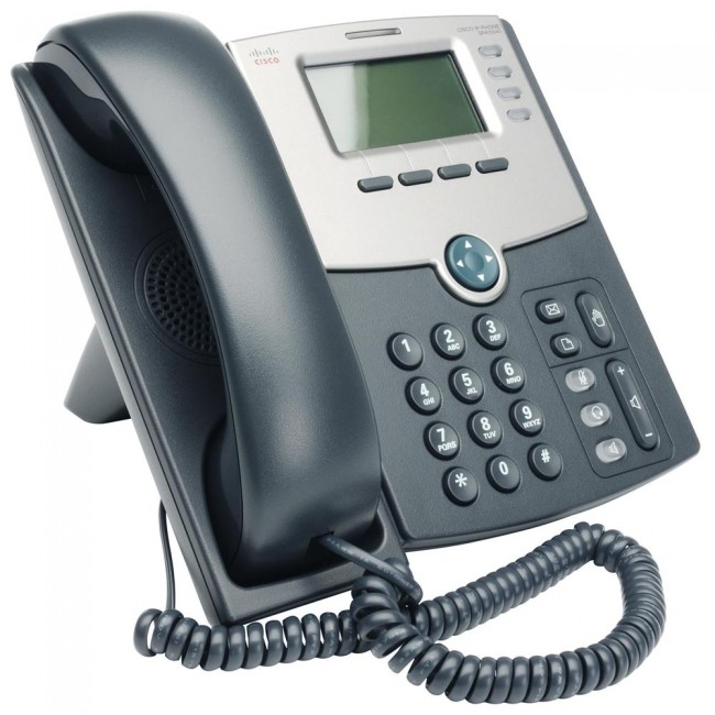 TELEFONO CISCO IP, 4 LINEAS, C/DISPLAY, POE Y PUERTO P/PC (SPA504G)