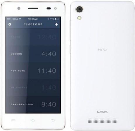 SMARTPHONE LAVA IRIS 702 BLANCO .