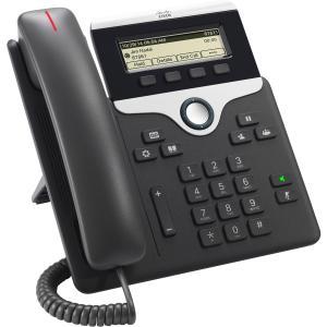 Teléfono IP Cisco 7811 - Cable - Montable en Pared - Carbón de Le?a - 1 x Total de línea - VoIP - Id