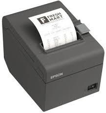 C31CD52062 Epson TM-T20II, Impresora de Tickets Térmico, Alámbrico Serial + USB Negro