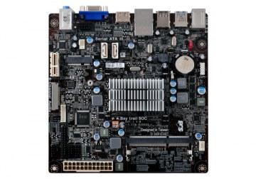 Tarjeta Madre Celeron J1800 ECS BAT-I J1800 - 2.41GHZ - DDR3 - SODIMM - 1333MHz - VGA - HDMI - USB