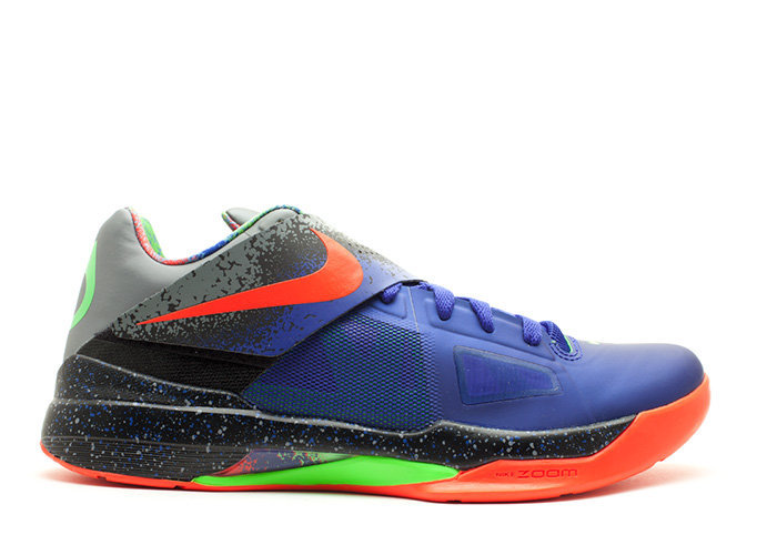Traphouse Sneakers | Nike zoom kd 4 nerf nerf cncrd brght crmsn blk c nerf