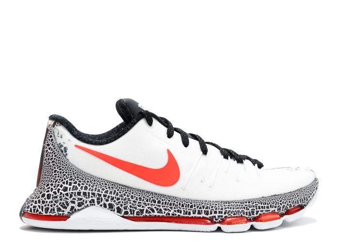 Traphouse Sneakers | Nike kd 8 xmas white black bright crimson