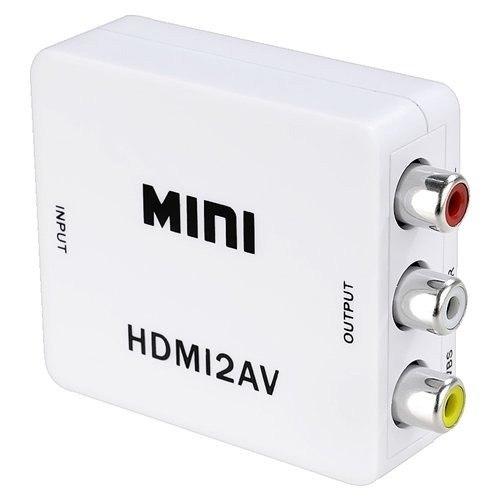Mini Convertidor De Señal HDMI a RCA