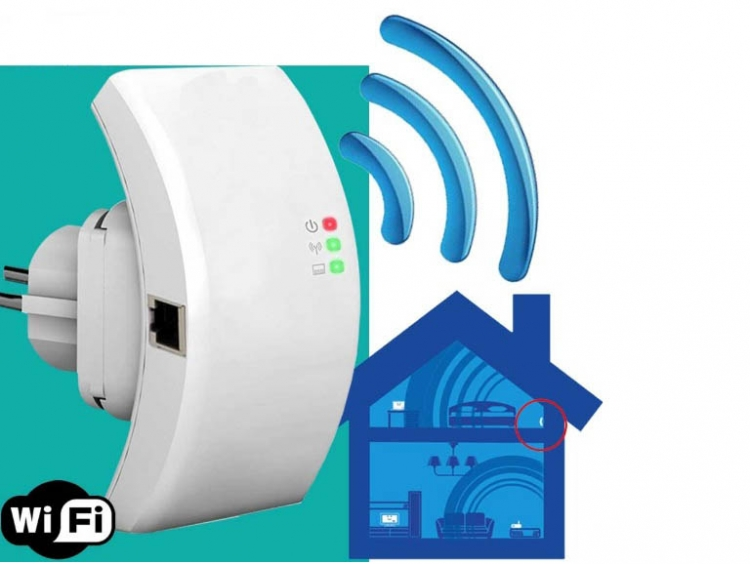 Repetidor Expansor De Señal De Internet WiFi