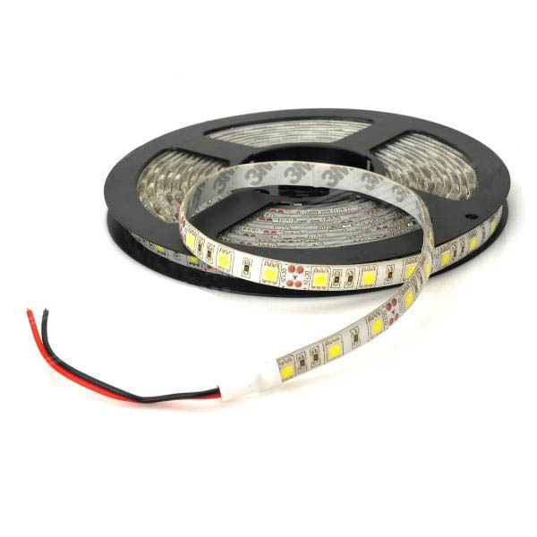 Tira Led Un Color 300 Leds 5050 5 mts para ext.
