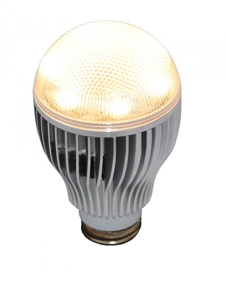 Foco Ahorrador Led 6 watts Tipo Bulbo Luz Cálida