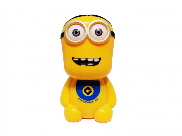Lámpara Led De Escritorio con cara de Minion