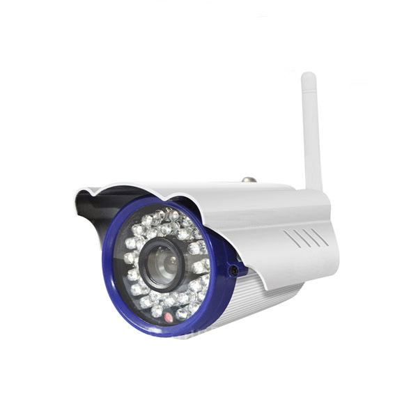 Cámara De Segurid Vigilancia IP WiFi P. Exterior