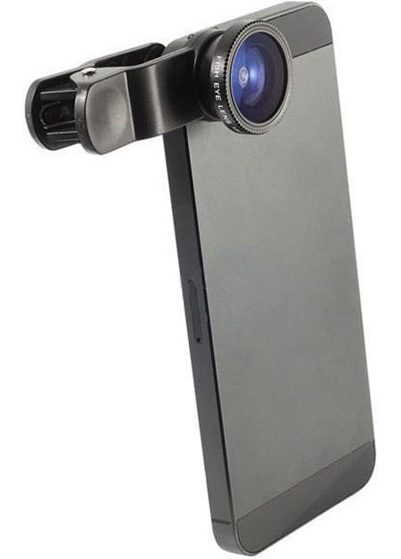 Universal Cip Lens, Lente Fotográfico 3 En 1 Para Celulares