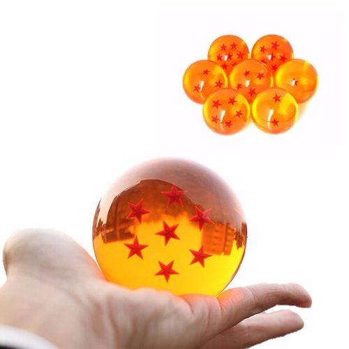 Set Esferas Del Dragon De Dragon Ball 7.5 cm De Diámetro