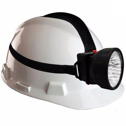 Linterna Tipo Minero Ajustable Para La Cabeza