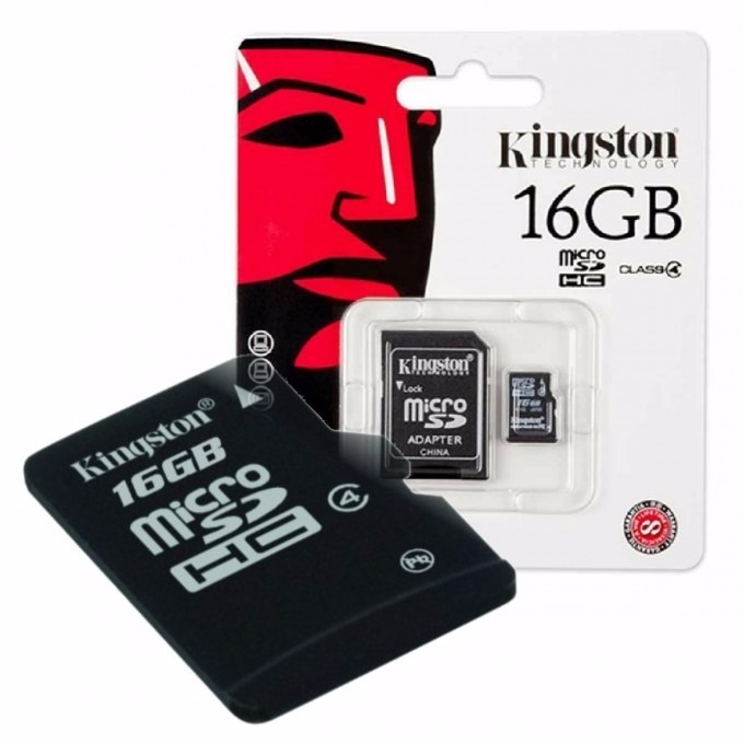 Memoria Micro SDHC Kingston 16 Gb Clase 4