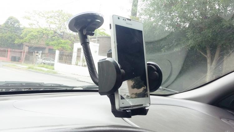 Sujetador Flexible Holder Soporte Brazo De Celular Para Auto