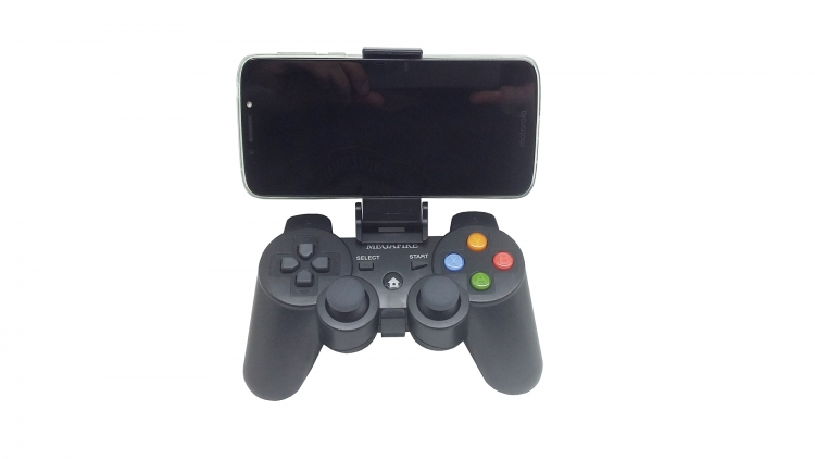 Control Gamepad Bluetooth Megafire Tipo PS Para Android