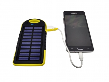 Power Bank Batería Externa Solar 10000 mah