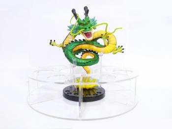 Base De Acrílico Para Esferas De Dragon Ball De 4.4cm ø + Figura De Shenlong