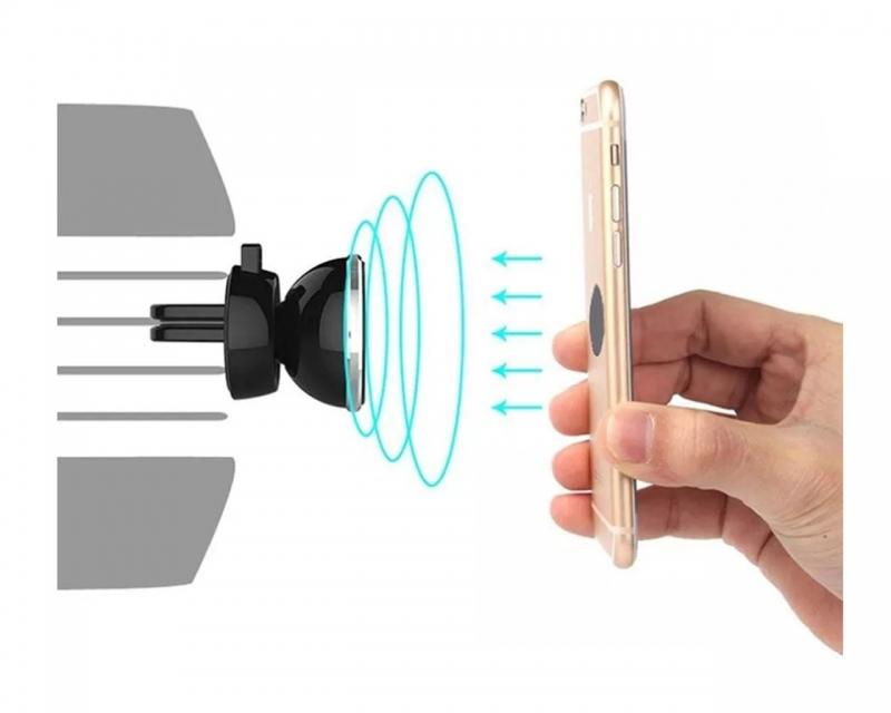Soporte Magnético Para Celular Para Colocar En Ventilas De Auto