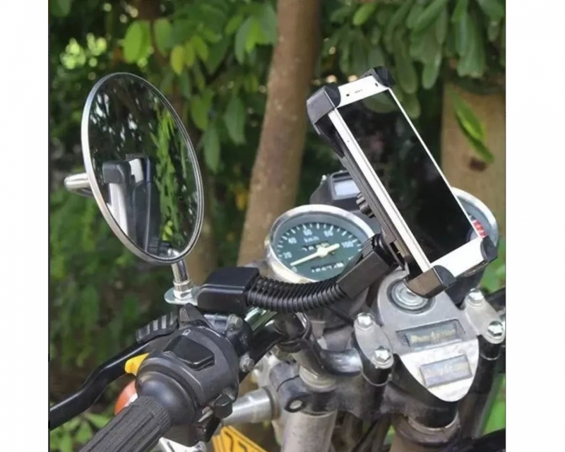 Soporte Base Sujetador Universal Celular Motocicleta