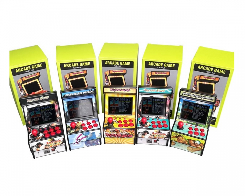 "Mini Maquinita Arcade 156 Juegos 16 Bit Pantalla 2.8"""
