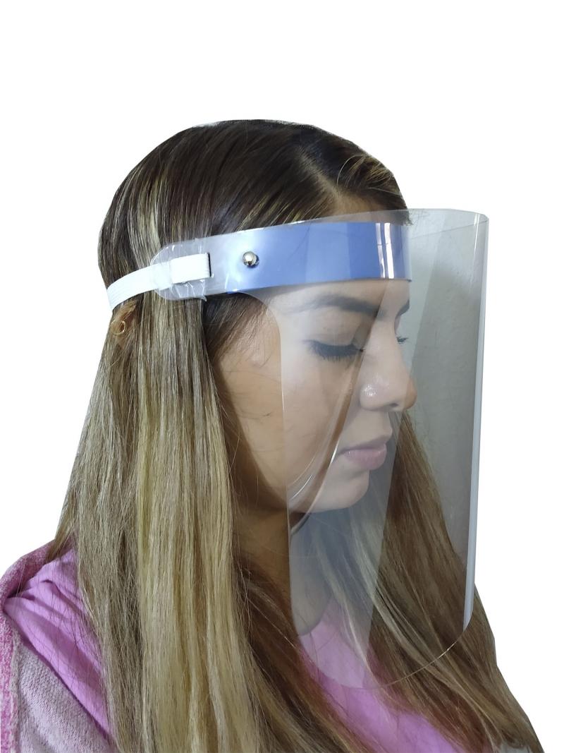 Careta Medica Protectora Facial Transparentes Reutilizable