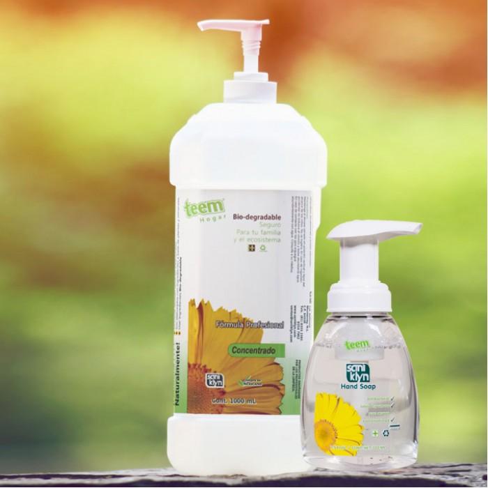 Jabón Antibacterial Para Manos Hand Soup Espuma 1L Aroma Té Verde