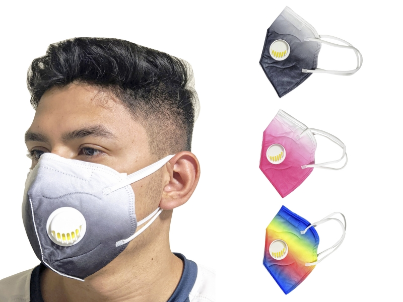 Cubre Bocas Mascarilla facial KN95 Con Filtro
