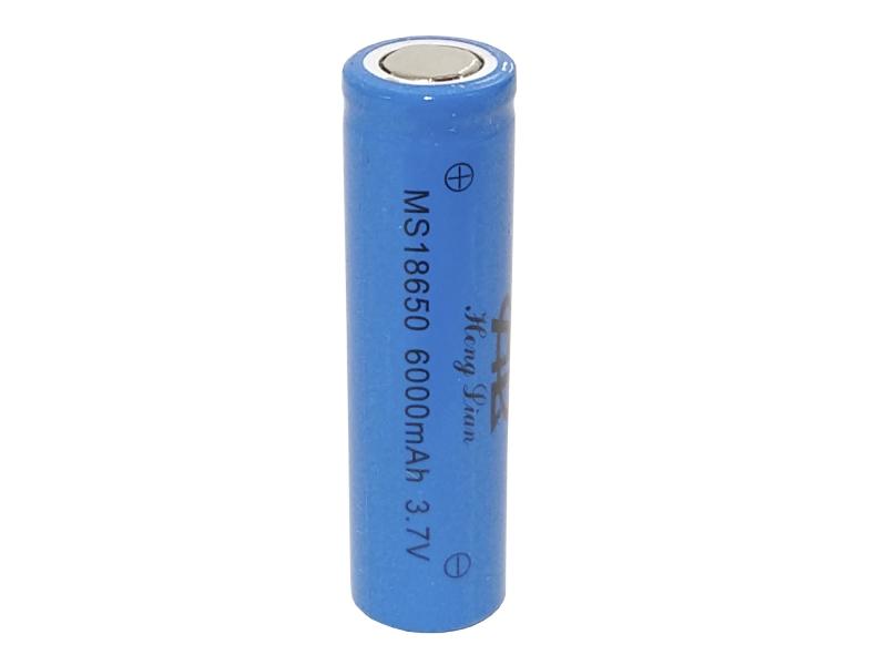 Pila Batería Recargable Tipo 18650 De 3.7v 6000mah