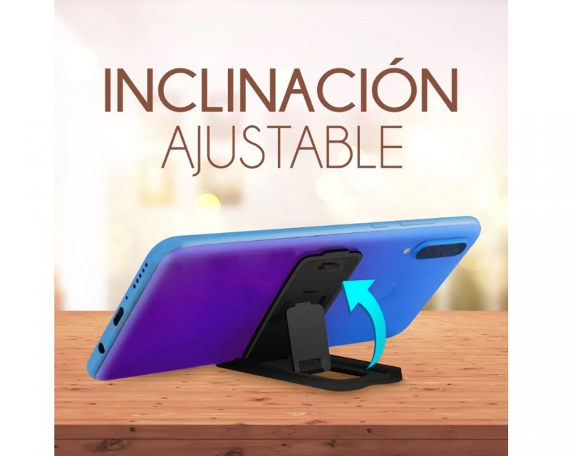 Soporte Base Plegable Para Celular Slim Holder De Escritorio