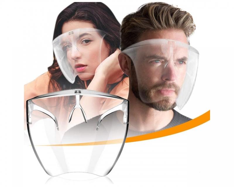 Careta Protectora Facial De Policarbonato